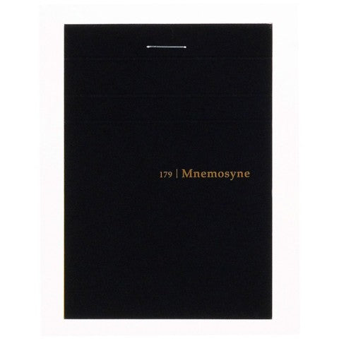 Maruman Notebooks Mnemosyne A7 5mm Grid Stitch Memo Pad