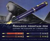 Bexley Monarch Jet Black Fountain