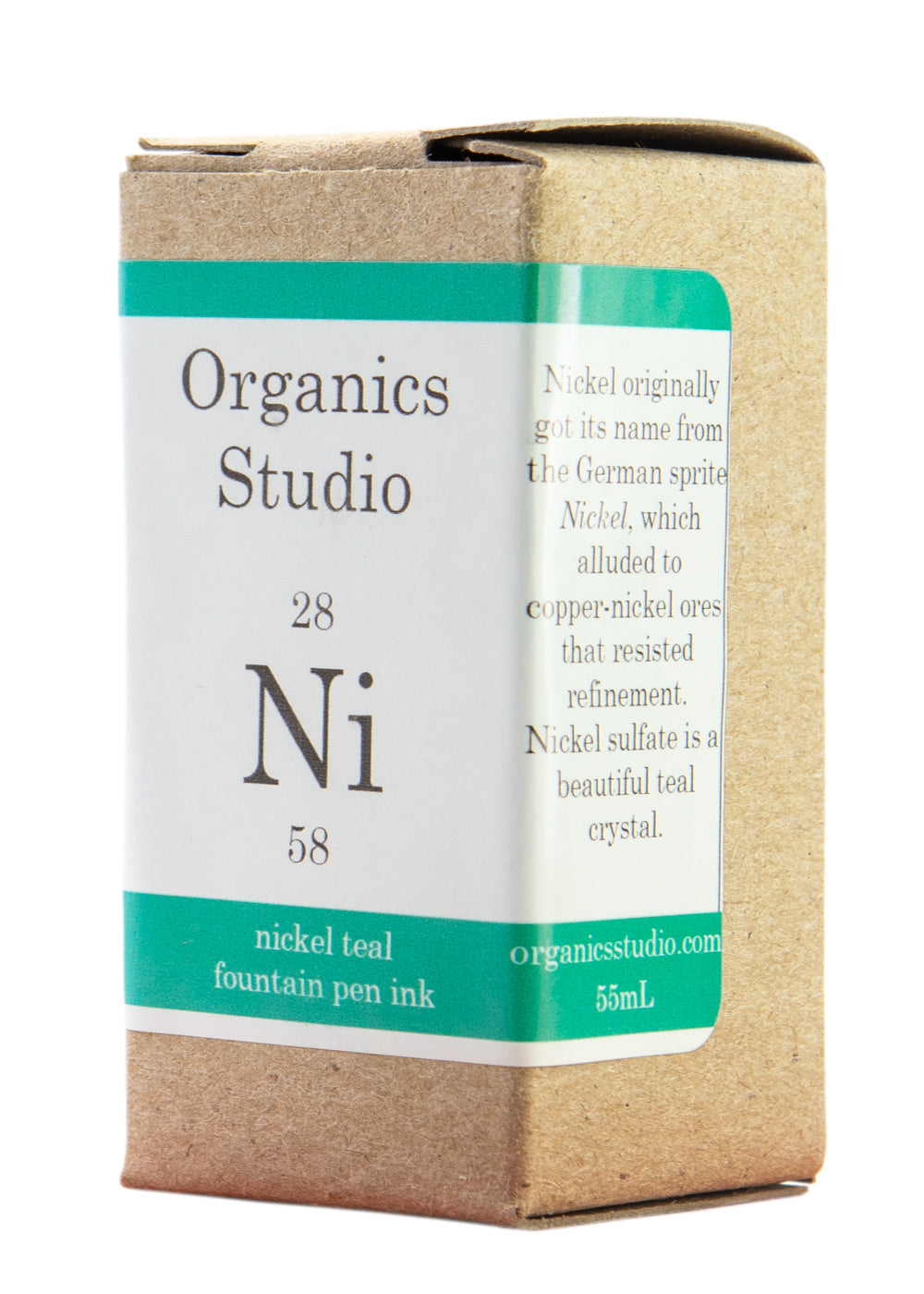 Organics Studio Elements Nickel Teal