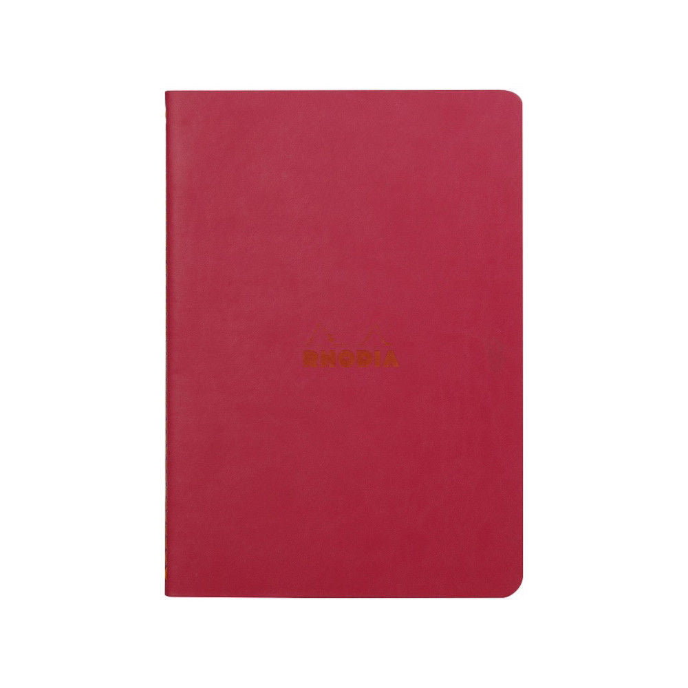 Rhodia Sewn Spine Rhodiarama A5 Notebook- Red