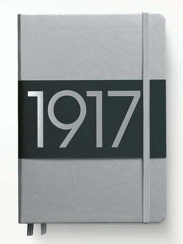 Leuchtturm1917 100th Anniversary Edition A5 Journal - Silver