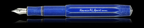Kaweco AL Sport Stonewashed Blue Fountain