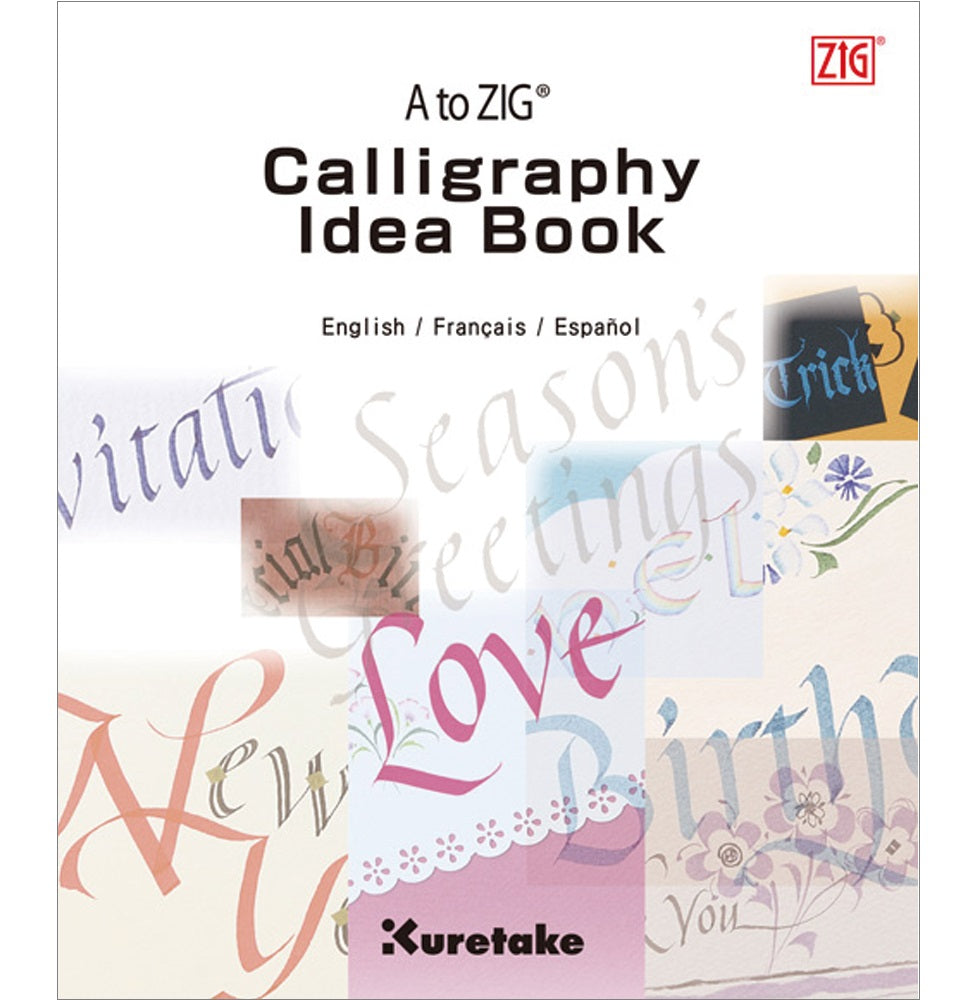 Kuretake ZIG A to ZIG Calligraphy Idea Book