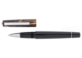 Tibaldi Infrangibile Taupe Grey Resin Rollerball Pen