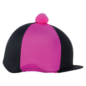 HyFASHION Two Tone Bobble Hat Cover
