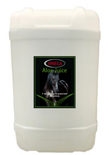Load image into Gallery viewer, Omega Equine Aloe Vera Juice 25 Litre