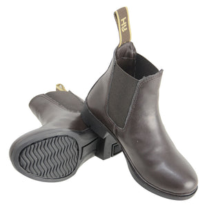 HyLAND Beverley Childrens Synthetic Jodhpur Boot