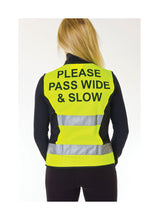 Load image into Gallery viewer, HyViz Waistcoat - Please Pass Wide & Slow