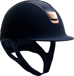 Samshield Shadowmatt Navy Shimmer Top and Rosegold Blazon