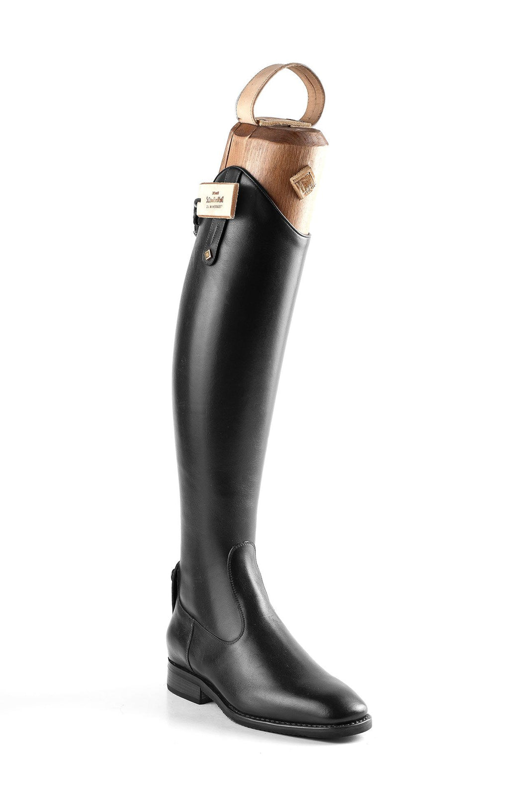 Tricolore S3311 UnLaced Dress Boot Black Grainy Leather
