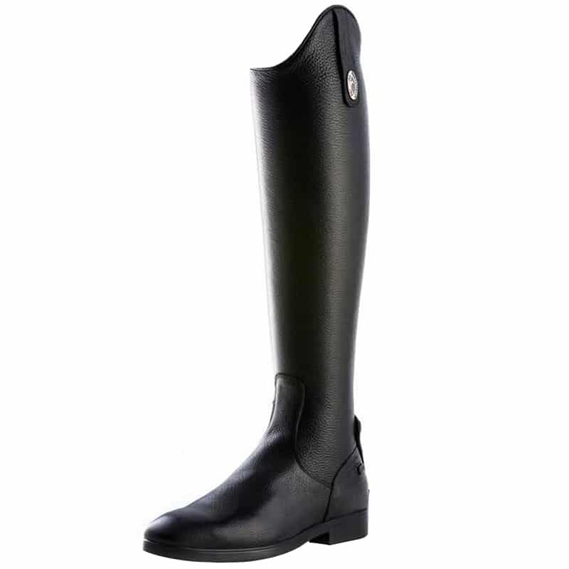Tricolore S3311 Dress Boot Black Grainy Leather