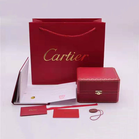Cartier Box and Papers