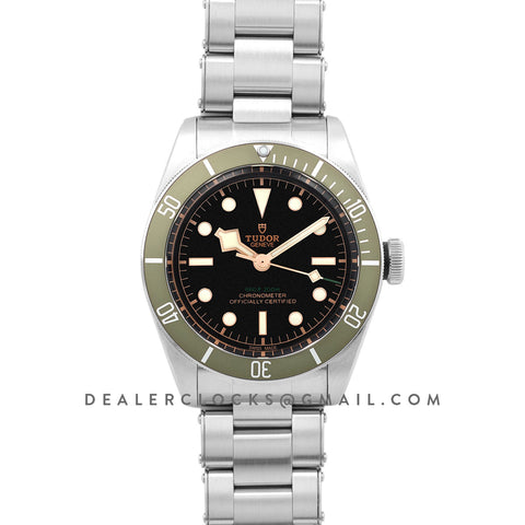Tudor Heritage Black Bay Green for Harrods Reference 79230G