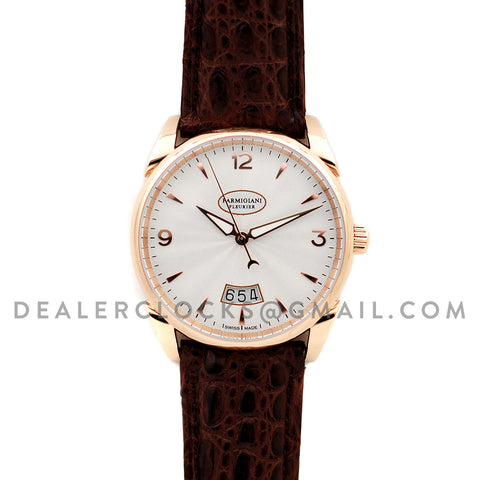 Tonda White Dial in Rose Gold