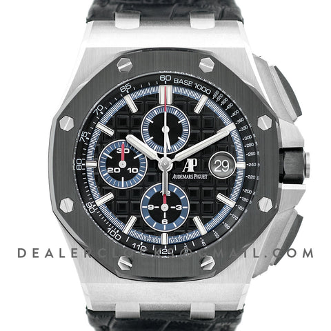 Royal Oak Offshore 44mm Black Ceramic Ref. 26411