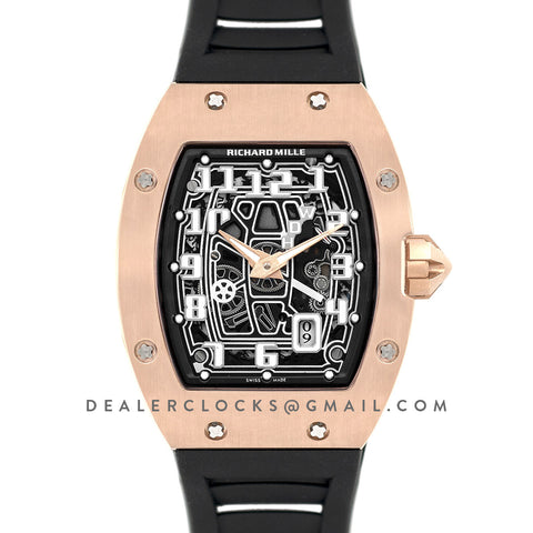 RM 067-01 Extra Flat in Rose Gold