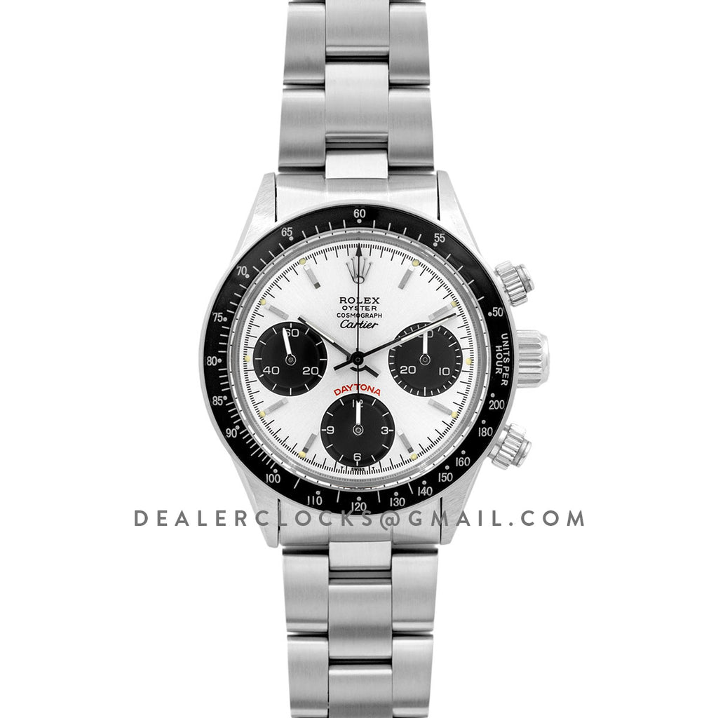Daytona 6263 Cartier White Dial