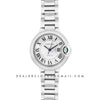 Ballon Bleu De Cartier 36mm Silver Dial with Diamond Bezel in Steel