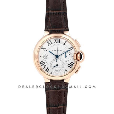 Ballon Bleu De Cartier Chrono 47mm Rose Gold