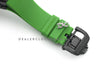 RM 068-01 Tourbillon Cyril Kongo on Green Rubber Strap