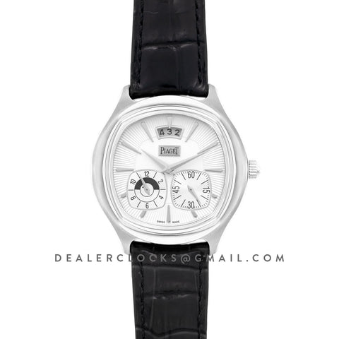 Black Tie Emperador White Dial in Steel
