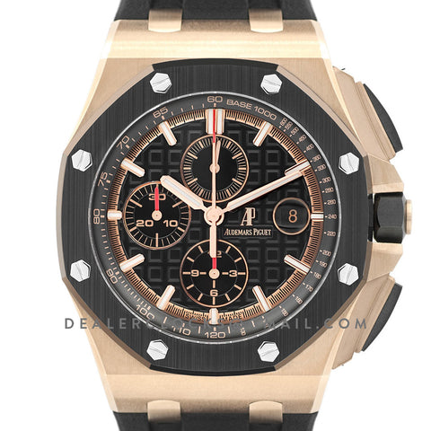 Royal Oak Offshore Novelty 44mm Rose Gold 26401RO SIHH 2017