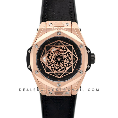 Big Bang Unico Sang Bleu in Rose Gold