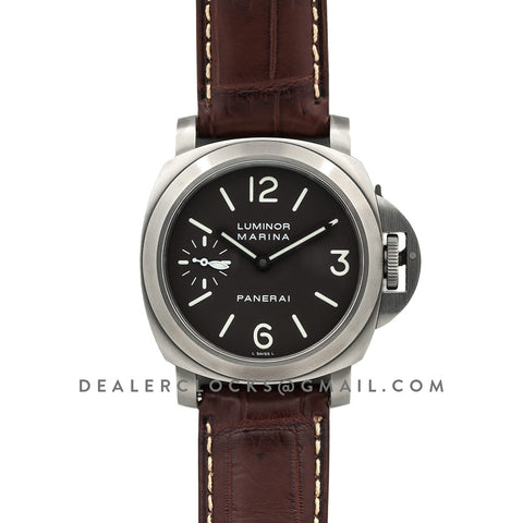 PAM061 Luminor Marina Titanio 'D' Series