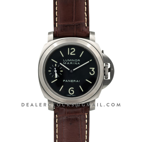 PAM177 Luminor Marina Titanio