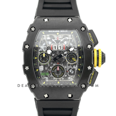 RM 011-03 Automatic Flyback Chronograph in PVD