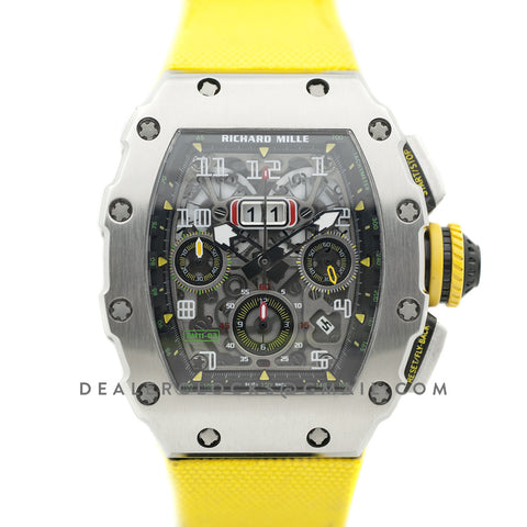 RM 011-03 Automatic Flyback Chronograph in Titanium