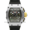 RM 011-03 Automatic Flyback Chronograph in Steel