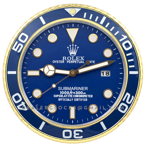 XL Submariner Series 116613LB Blue Gold