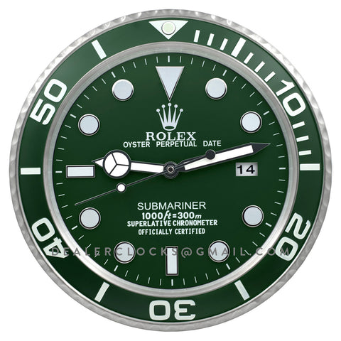 XL Submariner Series 116610LV Green