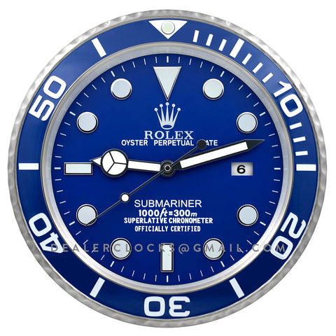 XL Submariner Series 116619LB Blue Platinum