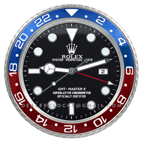 XL GMT Master II Series Steel (Blue/Red Bezel) BLRO