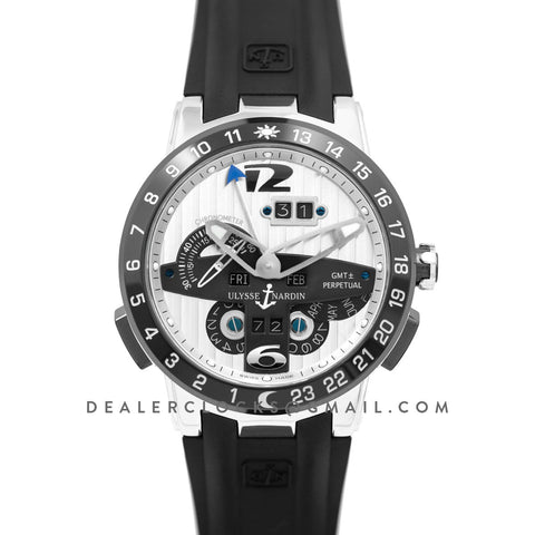 Executive EL Toro White Dial in Steel