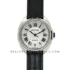 Cle de Cartier in Steel 35mm with Diamond Bezel