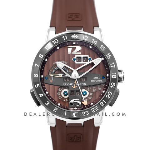 Executive EL Toro Brown Dial in Steel