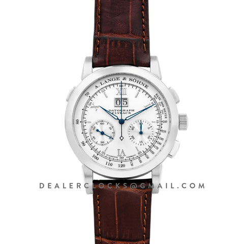 Datograph Chronograph Flyback White Dial in Steel
