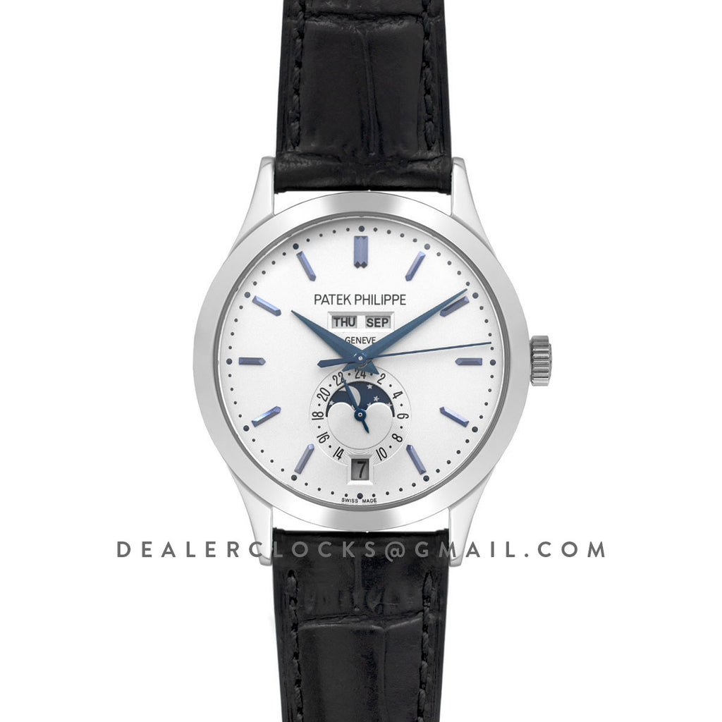 Complications 5396G White Dial with Blue Markers in White Gold