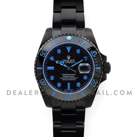 Submariner Carbon Dial (Blue)