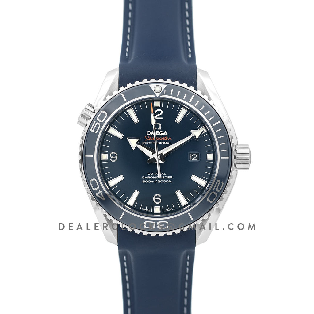 Seamaster Planet Ocean 600m Blue Dial in Titanium 45mm