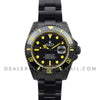 Submariner Carbon Dial (Yellow)