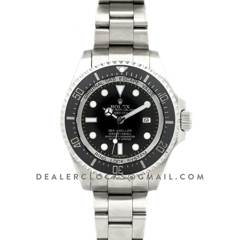 Deepsea Sea-Dweller DSSD 116660 Black Ceramic