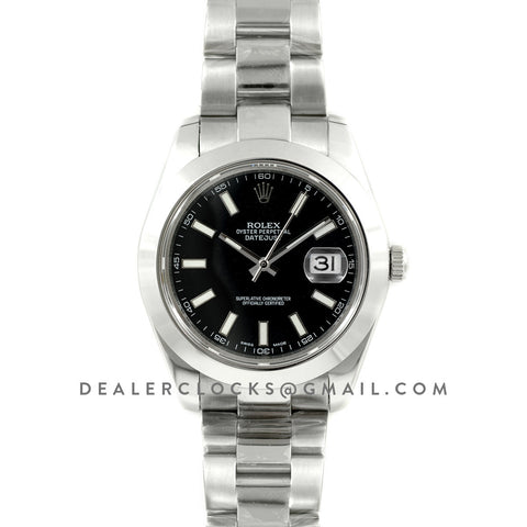 Datejust II 116300 Black Dial