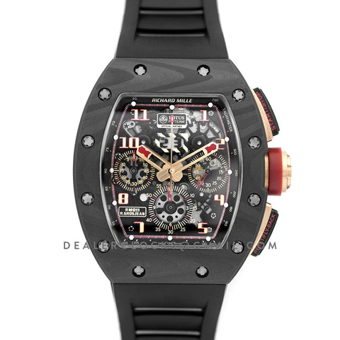 RM 011 Automatic Flyback Chronograph NTPT LOTUS F1 Team Romain Grosjean