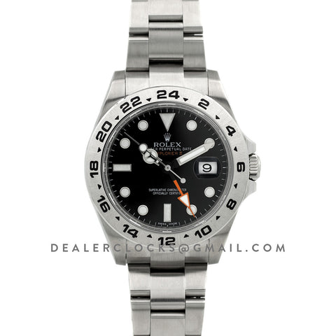 Explorer II 216570 Black Dial