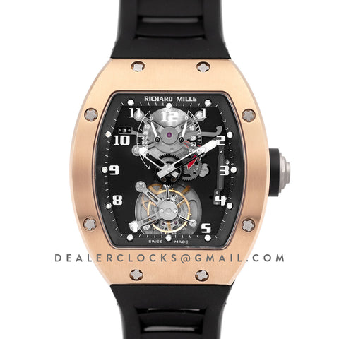 RM 001 Tourbillion in Rose Gold