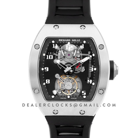 RM 001 Tourbillion in White Gold